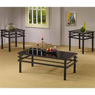 Check Out The Coaster Furniture 701524 Modern Coffee Table And End Table Set