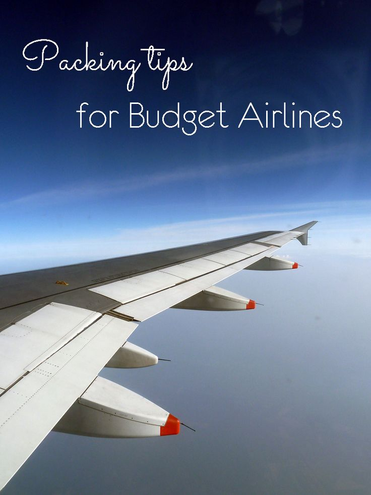 Travelling with carry on only on budget airline isn't easy – you got the liquid restriction, size restrictions