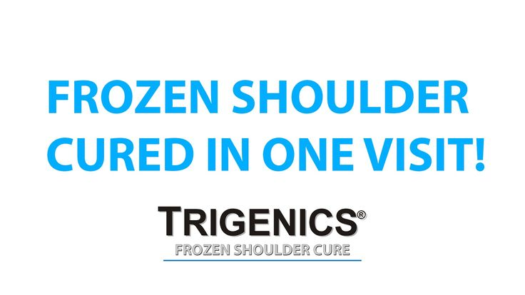 Unbelievable Trailer-FROZEN SHOULDER CURED in ONE VISIT with the Trigeni...
