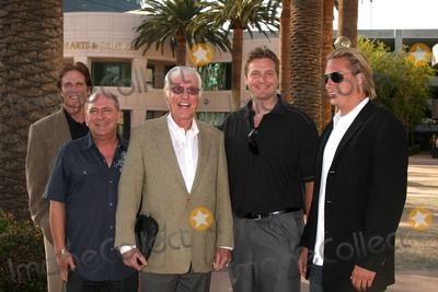 """Larry Mathews (Ritchie from the Dick Van Dyke Show) , Dick Van Dyke & Son Barry, and grandsons Carey & Shane Van Dyke  arriving at the """"Salute to TV Dads"""" Event at the Academy of Television Arts & Sciences in North Hollywood , CA on June 18, 2009."""