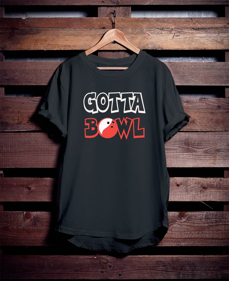 Excited to share the latest addition to my Etsy shop: Custom bowling shirt, bowler t-shirt https://www.etsy.com/listing/568082316/custom-bowling-shirt-gotta-bowl-funny?ref=listings_manager_grid