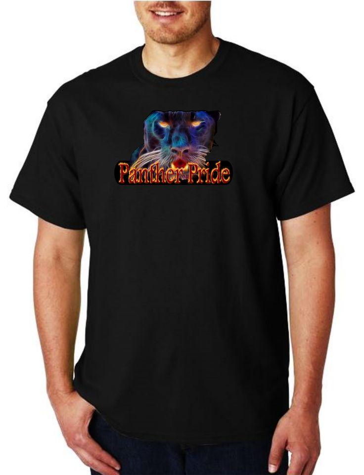 Unisex Heavy Weight Cotton T-Shirt (Gildan) - Watervliet Panthers Panther Pride