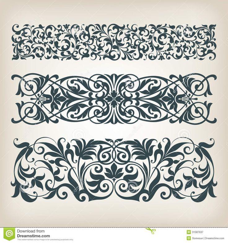 Vecteur Fleuri De Calligraphie De Rouleau De Cadre Réglé De Frontière De Vintage - Télécharger parmi plus de 43 Millions des photos, d'images, des vecteurs et . Inscrivez-vous GRATUITEMENT aujourd'hui. Image: 31587637