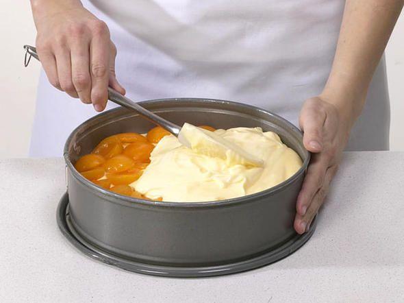 Käsekuchen ohne Boden - Schritt 7: