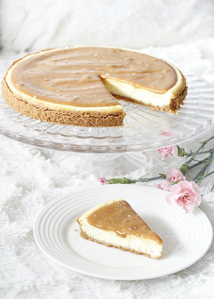 Dazzling and Things: Salted caramel cheesecake