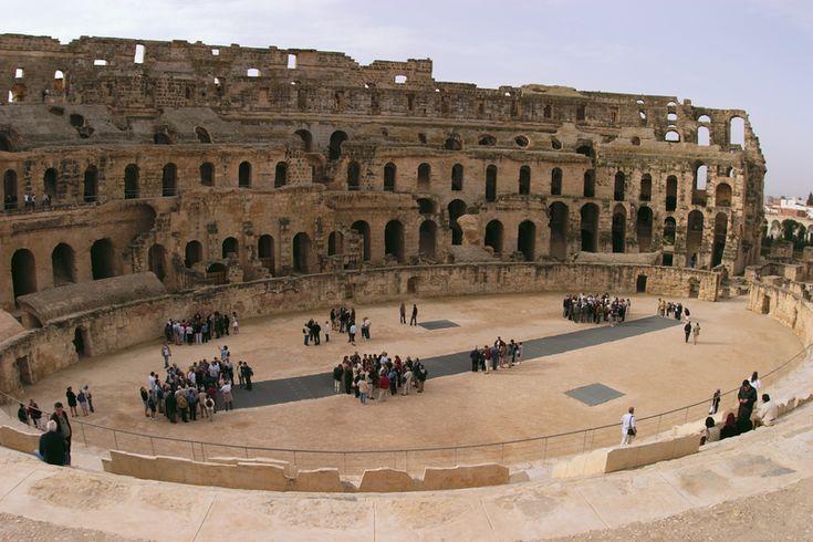 El Jem Amphitheater - Amphithéâtre d'El Jem — Wikipédia
