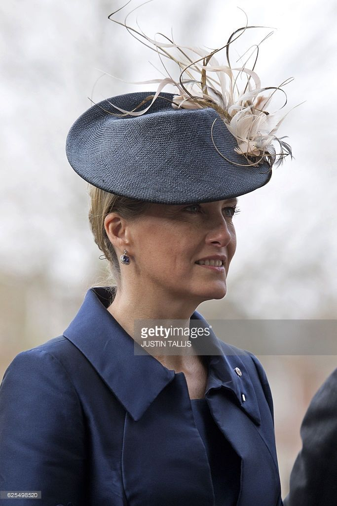 Britain's Sophie, Countess of Wessex, arrives at Westminster Abbey in central London on November 24, 2016, to attend a Service of Thanksgiving to celebrate 60 years of The Duke of Edinburgh's Award.  / AFP / Justin TALLIS        (Photo credit should read JUSTIN TALLIS/AFP/Getty Images)