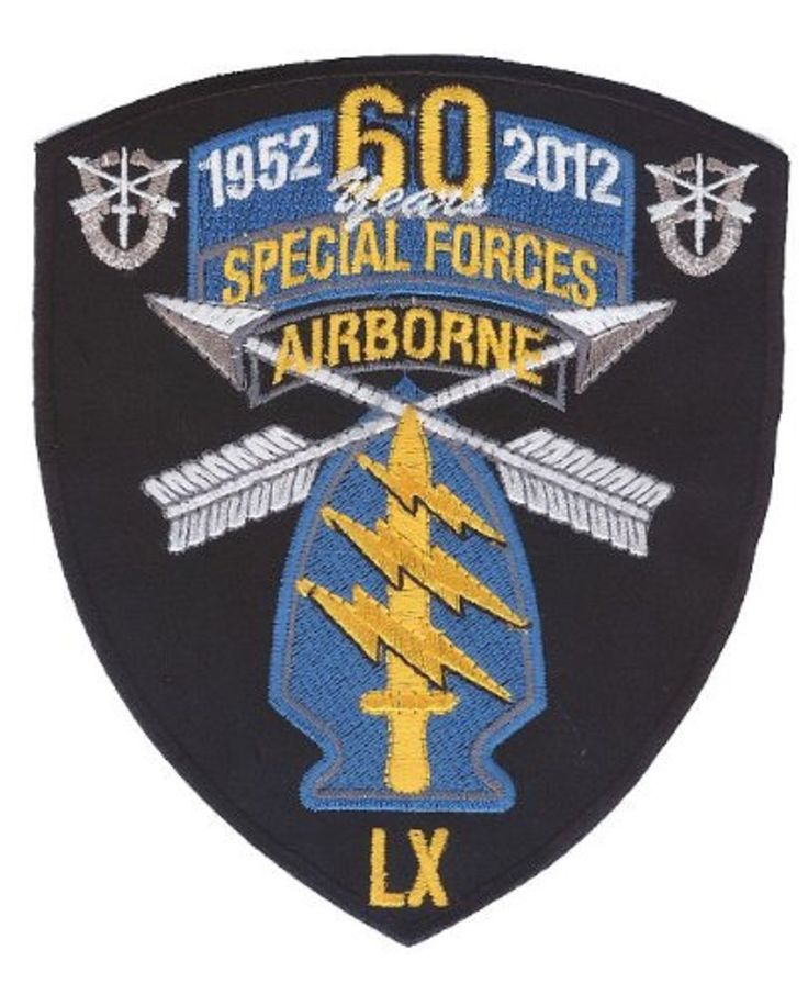 US Special Forces - Green Beret - ODA - 60 Year Anniversary Patch
