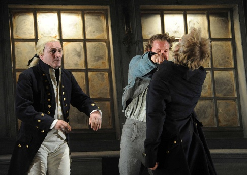 The hanging of billy budd in
