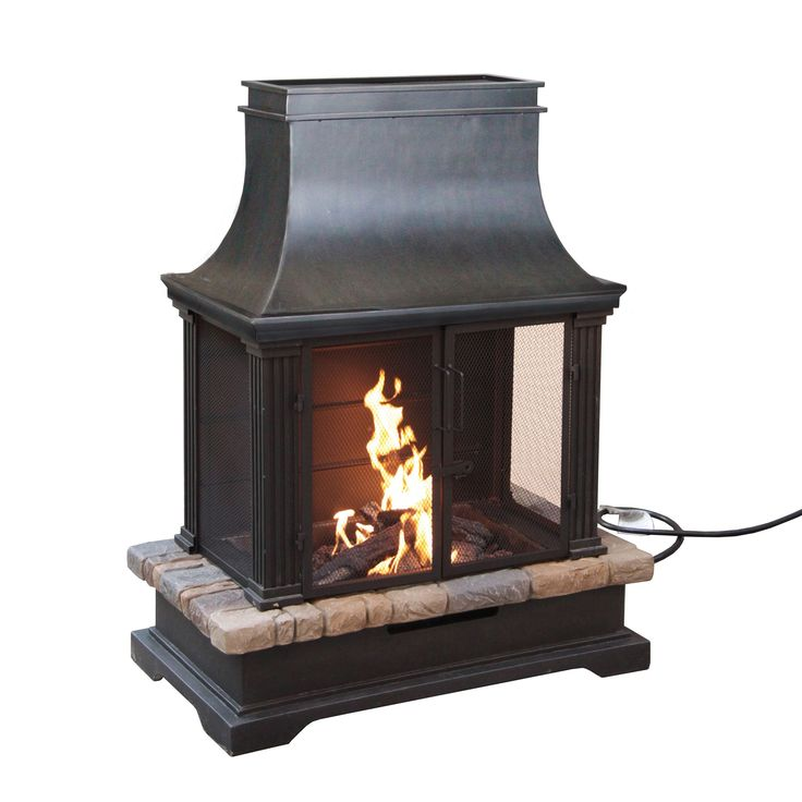 This outdoor gas fireplace is the perfect way to bring the creature comforts of the indoors, to your outdoor living area.