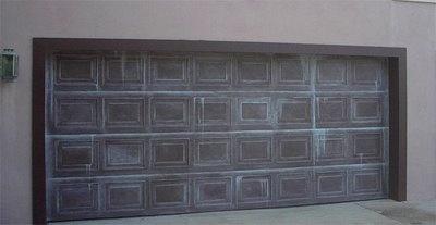 Garage Door Painted Like Patina Copper   Everything I Create   Paint Garage  Doors To Look Like Wood   For The Home   Pinterest   Paint Garage Doors,  Garage ...