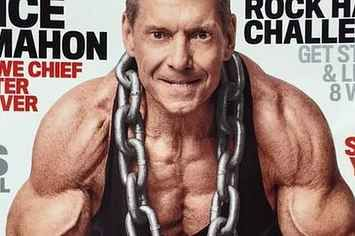 "69-Year-Old Vince McMahon Is On The Front Cover Of ""Muscle And Fitness"" And He's Totally Ripped"