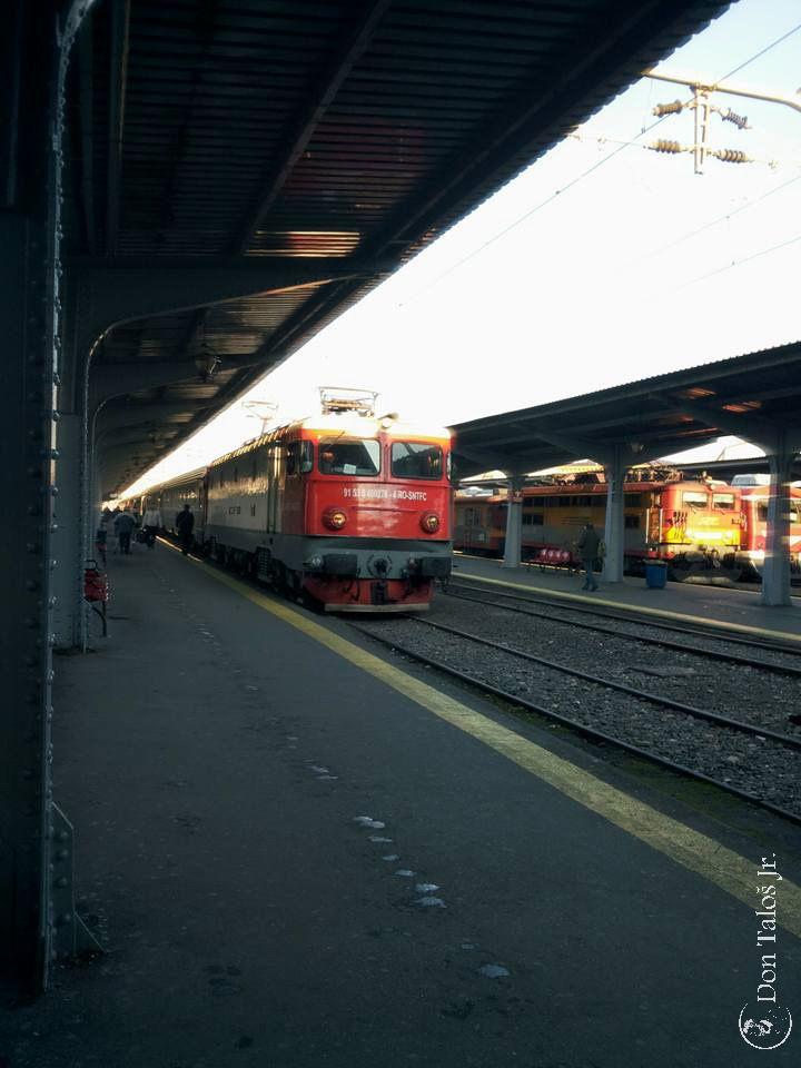 ' Nu contează de unde vii şi cine eşti, toate astea se vor schimba în Bucureşti '   #Bucharest North Railway Station   www.talosdarius.ro