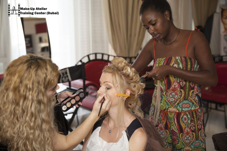 http://www.make-up.ae/courses/ #makeup #hairstyling #courses #dubai #french #diploma