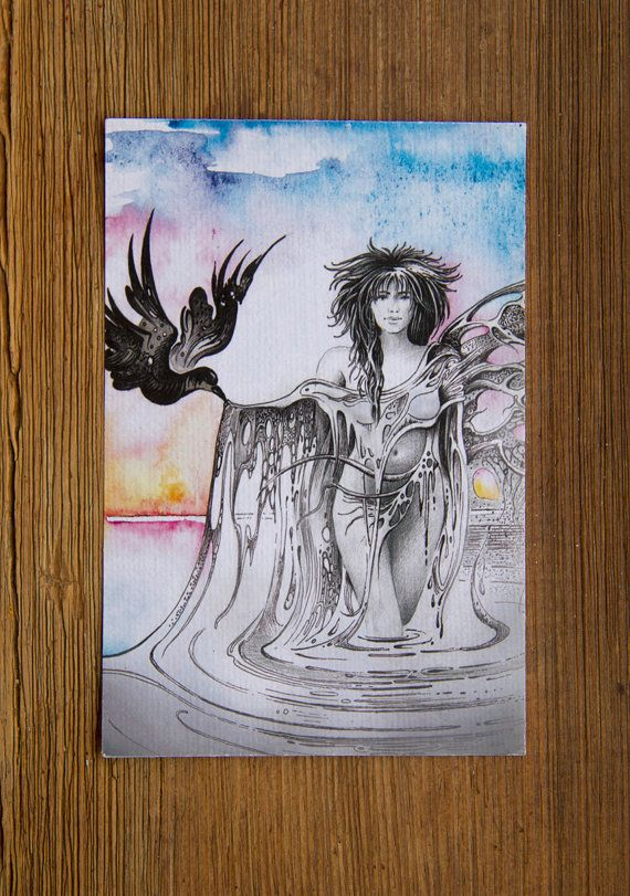 """THE AQUARIUS"" – Protective Angel for Zodiac Sign"