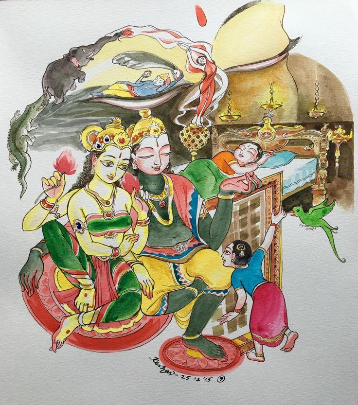 9. Madhava : #Tiruppavai #krishnafortoday
