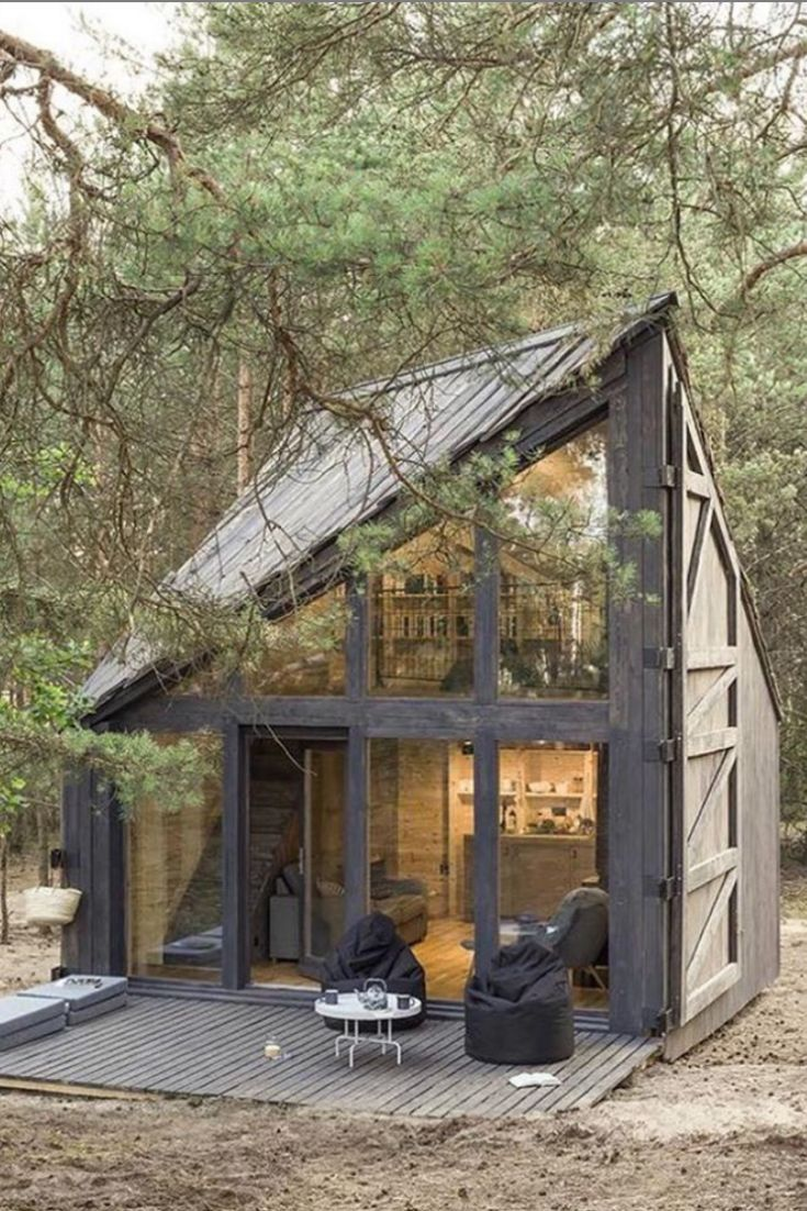 45+ brilliant ideas for your little house project – House Topics, #dreamhouseinthewoods #fur # …