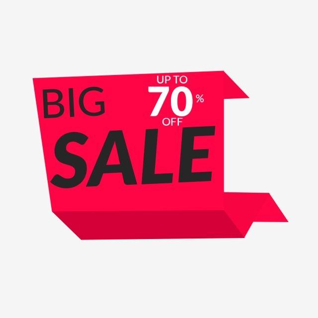 Super Sale Label Upto 70 Off Design Banner Sale Vector Png