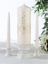 Show details for Ivory Pearl Candle Set