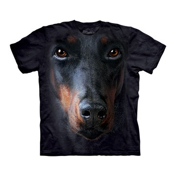 Doberman Face Tee Adult now featured on Fab.