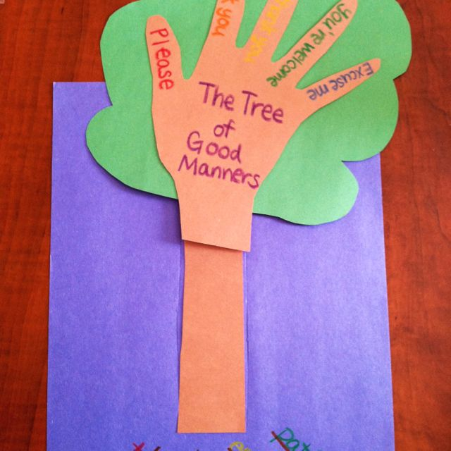 The Quot Good Manners Tree Quot After It Has Been Watered With