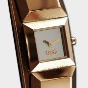 Dolce & Gabbana Armbanduhr Dance Damen Uhr Markenuhr Edelstahl Lederuhr Leder Roségold D&G Dw0271