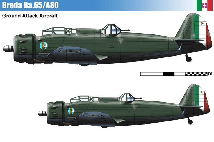 Breda Ba.65/A80.