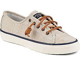 Zapatillas de deporte de lino de moda Seacoast de mujer, gris, 10 M US