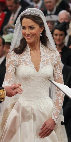 just a few ramifications and Princess Kate's wedding dress could be Teylor's dream wedding dress