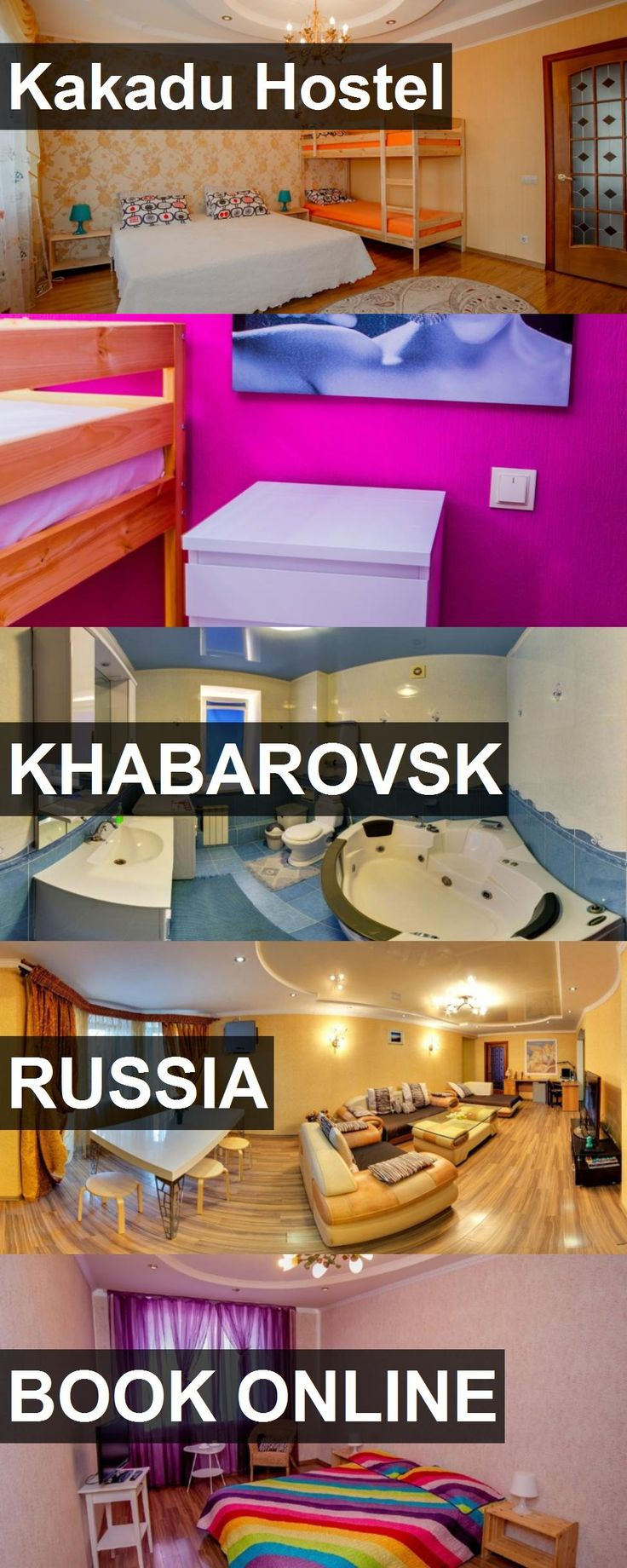 Kakadu Hostel in Khabarovsk, Russia. For more information, photos, reviews and best prices please follow the link. #Russia #Khabarovsk #travel #vacation #hostel
