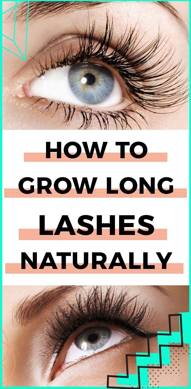 How To Grow Long Eyelashes Naturally No More Mascara Or Extensions