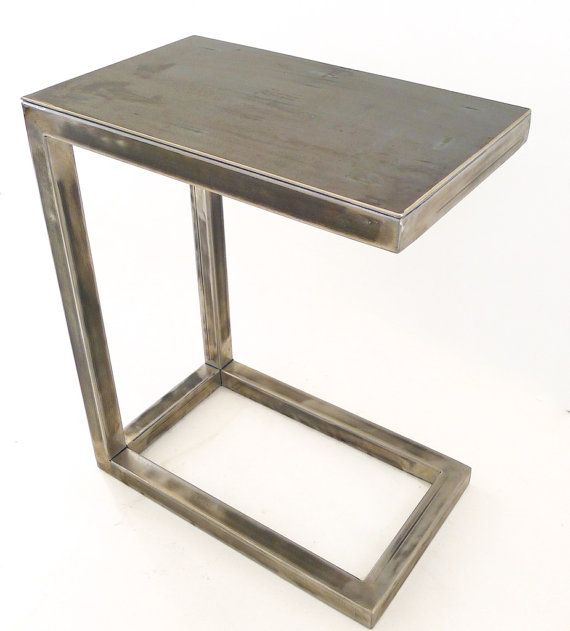 All Welded Metal Miller C Table / Perfect For A By Nyendesigns, $325.00