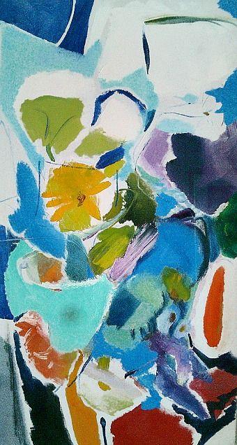 Ivon Hitchens  Blue Rhapsody  1972