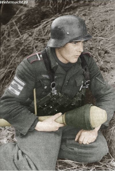 WH with panzerfaust.