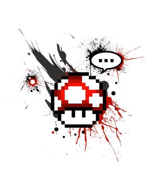 Pixel houba - Volný