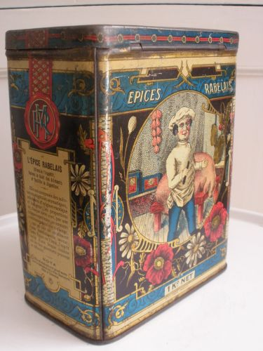 Vintage French spice tin