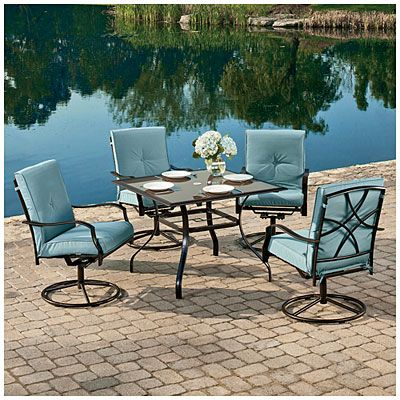 Big Lots 209.99 Wilson U0026 Fisher® Palm Harbor 5 Piece Cushion Dining Set Part 53