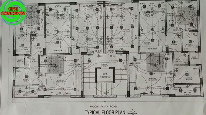 Details Of Electrical Plan Schedule In Construction Electrical Layout Construction Estimating Software Electrical Plan