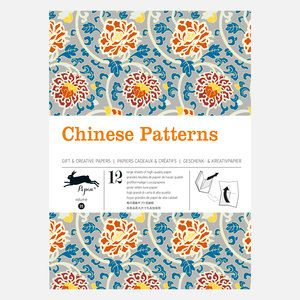 Chinese Patterns Wrapping Paper