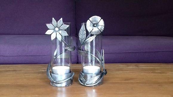 Pair of Candleholders Kandjup (Pink Glass Cover)  http://qoo.ly/hkqv4    #craftymetal #craftymetalstore #transitionmetal #transitionmetalcreation #8BH #art #artshop #picture #artist #metal #handmade #original #craftmen #practical #creative #artoftheday #beautiful #gallery