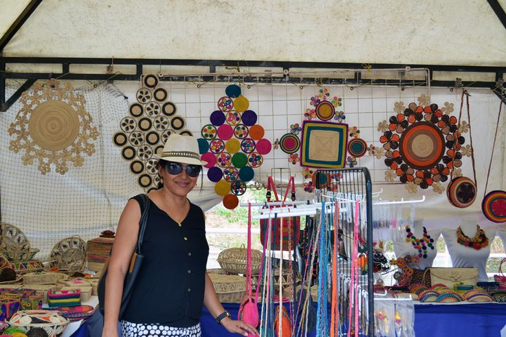 Exhibición de artesanías en palma de Iraca en Usiacurí. Atlántico. Colombia Iván Lara V. Barranquilla. Colombia www.sermejorfotografo.blogspot.com ilara@iyl.com.co