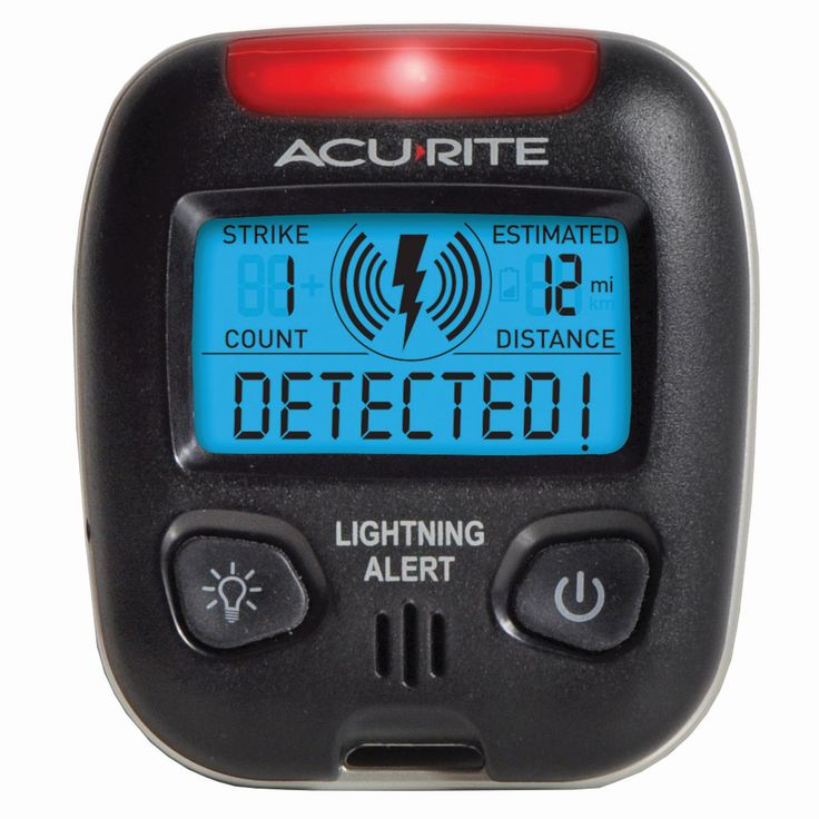Chaney AcuRite Port Lightning Detector