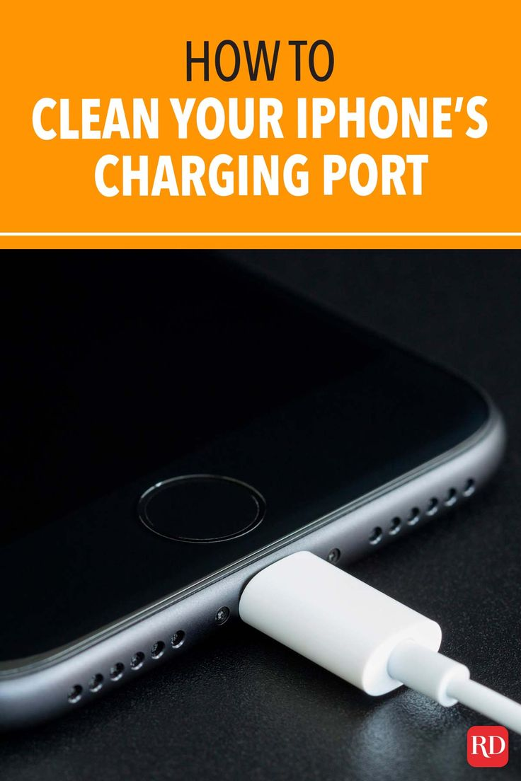 How to clean your iphones charging port how to clean