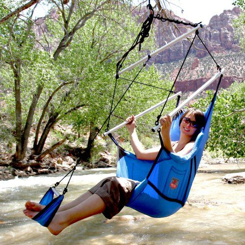 Camping Hammocks - Pin It :-) Follow US  :-)) zCamping.com is your Camping Product Gallery ;) CLICK IMAGE TWICE for Pricing and Info :) SEE A LARGER SELECTION of camping hammocks at http://zcamping.com/category/camping-categories/camping-furniture/camping-hammocks-camping-furniture/ - hunting, camping, hammocks, camping gear, camping accessories - Grand Trunk Road Recliner Camp chair, Crimson « zCamping.com