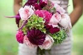 Wispy pink bouquet.