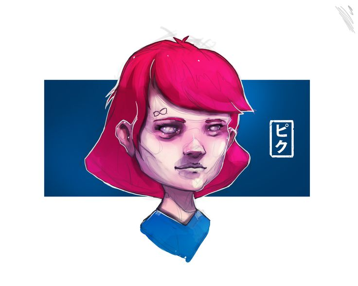 https://youtu.be/naRp2woh6UY  Speedpaint punk Total time: 1 hours and 20 minutes Program: Photoshop CC, Quick Time Player and iMovie Tablet: Intuous 4