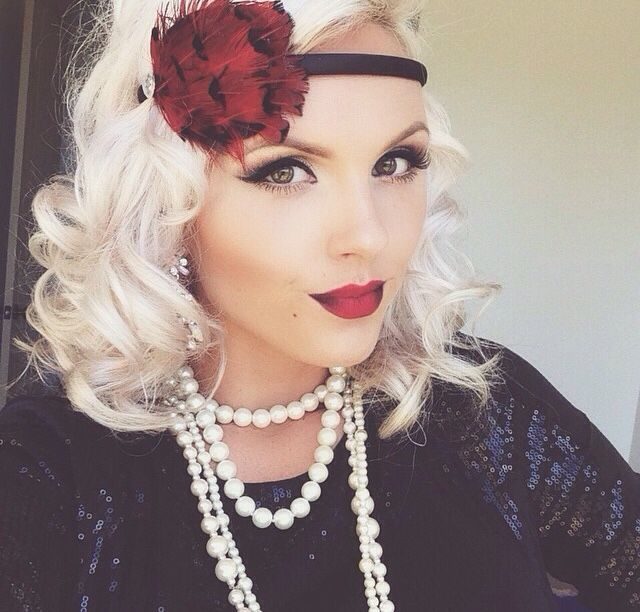 25+ Best Ideas About Great Gatsby Hair On Pinterest | Gatsby Hair Gatsby Hairstyles And Great ...