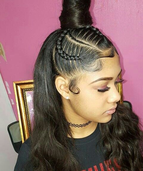 Best 25+ Weave hairstyles ideas on Pinterest | Black hair ...