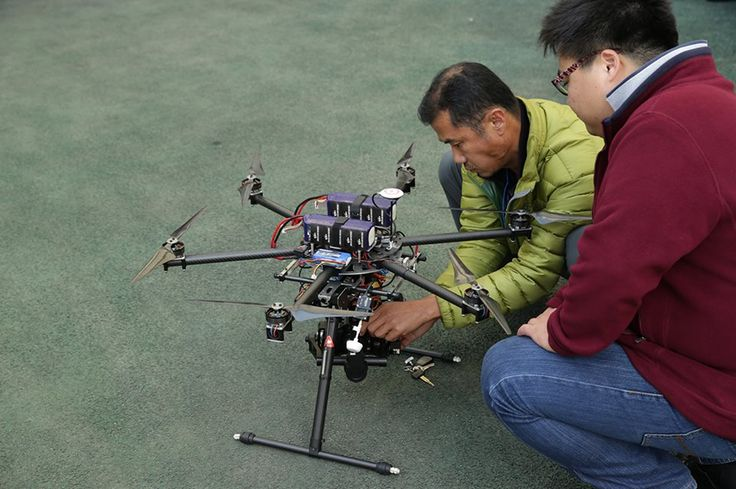 Hexakopter powered by AkkuFresh® Next Generation™ #akkufresh #battery #foil #hexakopter