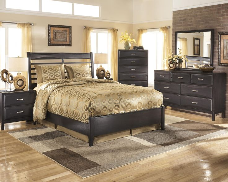 Ashley Furniture Kira Queen Bedroom Group Va Md & Dc  Cozy Custom Ashley Bedroom Dressers Review